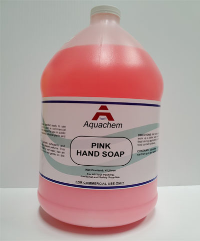 Pink Hand Soap