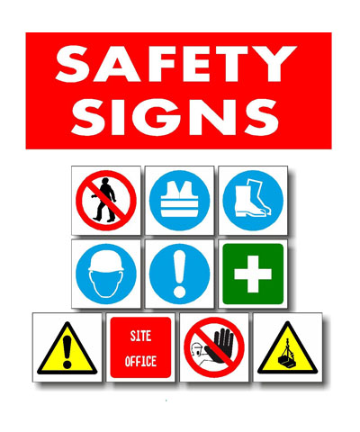 All Kinds of Safety & Warehouse Signs