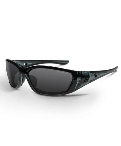 Crossfire Glasses Foam Lined 710 Smoke Lens