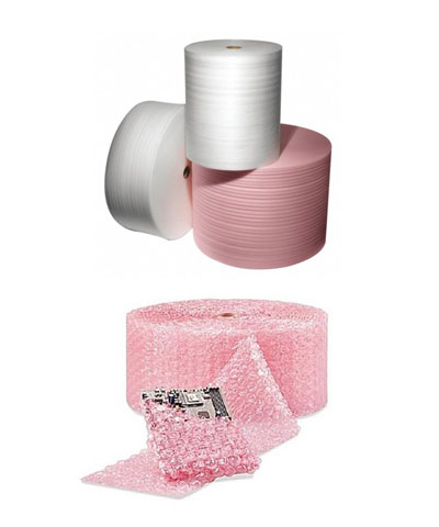 Bubble Wrap & Foam Rolls