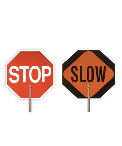 Stop & Slow Sign