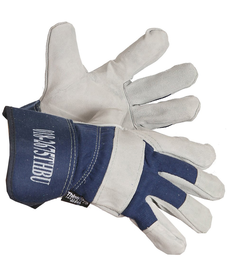 Cowhide Split Leather, Thinsulate Liner Glove