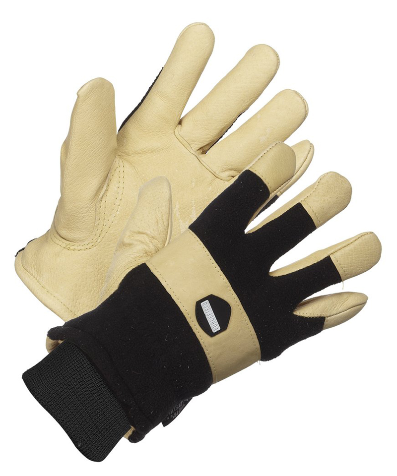 Premium Pigskin Grain Leather, Thinsulate Lined Glove
