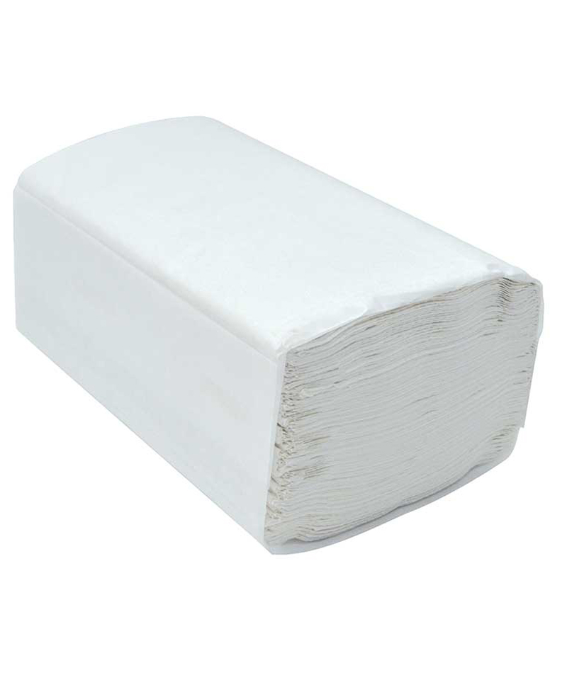 Single Fold  Hand Towel White