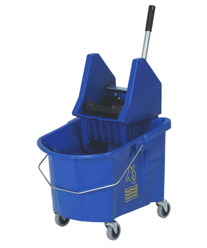 Mop Bucket and Wringer Combo Blue