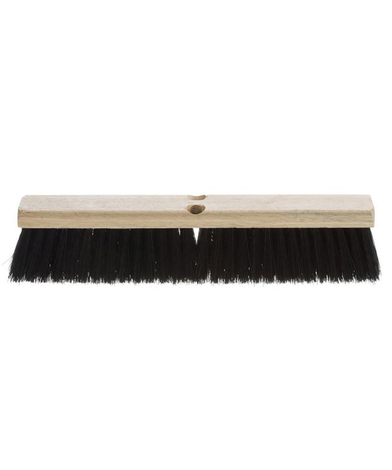 """Push-Broom 24"""" Wood Block"""