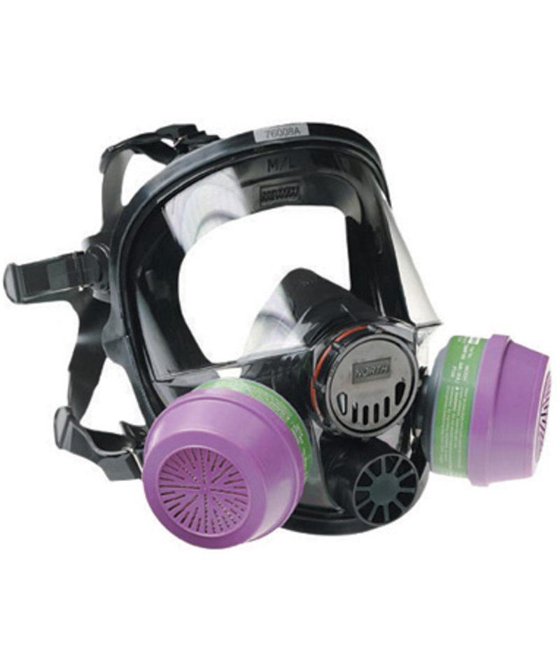 North 5400 Series Full Facepiece Mask
